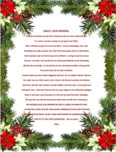 Kerstwens Wil zelf